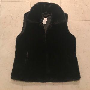 Brooks Brothers Women's Fur Vest - Brand New